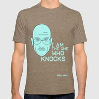 Breaking Bad - Faces - Walter White Mens Fitted Tee Tri-Coffee SMALL