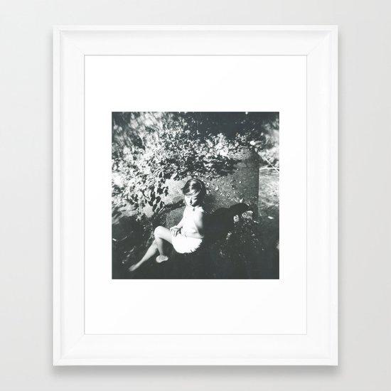 Break my Silence Framed Art Print