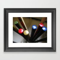 Chopsticks Framed Art Print