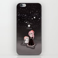Black Xmas: A Merry Gothic Christmas iPhone & iPod Skin