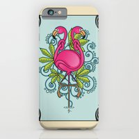 Knot A Flamingo iPhone 6 Slim Case