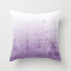Radiant Orchid Purple Ombre  Throw Pillow