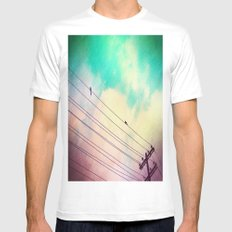 Come Closer Mens Fitted Tee SMALL White