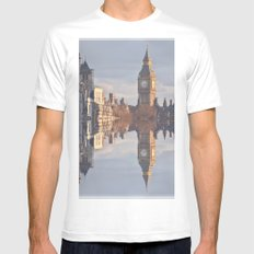 London White Mens Fitted Tee SMALL