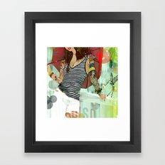 HOTEL PARADISO Framed Art Print