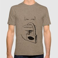 Freedom of Expression 3 of 3 Mens Fitted Tee Tri-Coffee SMALL