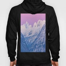 Pink Sunset Mountains Hoody