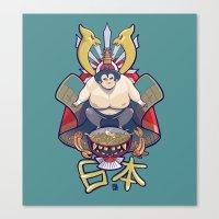 Nihon Canvas Print