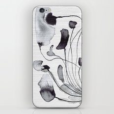 Ink Flowers iPhone & iPod Skin