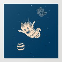 Space Cake Canvas Print