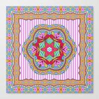 Mix&Match;  Pretty Pink … Canvas Print