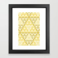Triforce Framed Art Print