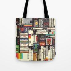 Cassettes, VHS & Atari Tote Bag