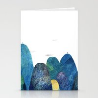 The Moutains Are Comming Stationery Cards