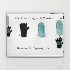 The Four Stages Of Winter Laptop & iPad Skin