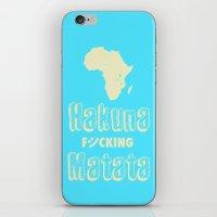 Hakuna Matata Africa iPhone & iPod Skin