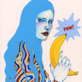 Art Print - Pow Pow - Natalie Foss
