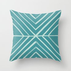 Intersect - in Pool Throw Pillow