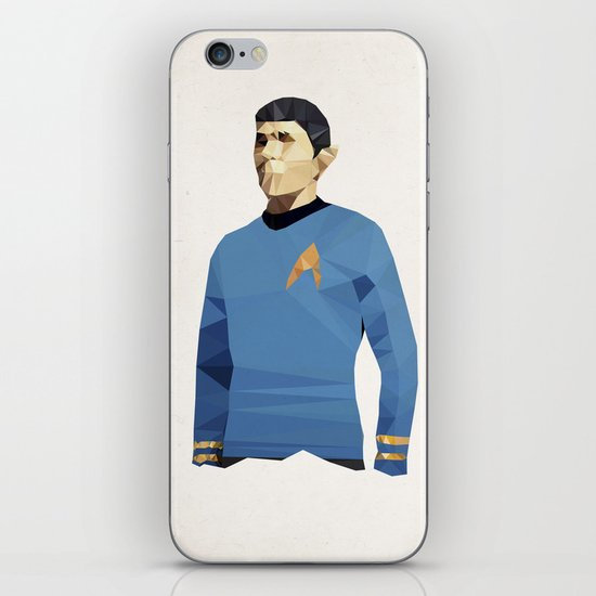Polygon Heroes - Spock iPhone & iPod Skin