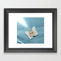 Saint Cotton Framed Art Print