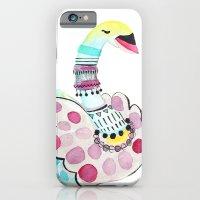 Patterned Swan iPhone 6 Slim Case