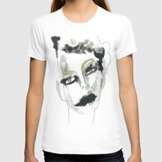confusion Womens Fitted Tee White SMALL