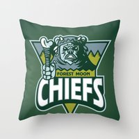 Forest Moon Chiefs - Gre… Throw Pillow