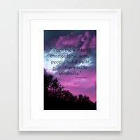 Wind of Change Framed Art Print