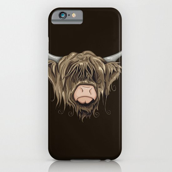 Highland Cow iPhone & iPod Case