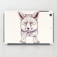 Fox And Scarf iPad Case