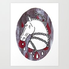 The Chained Colt Art Print