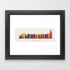 Colossal NYC Framed Art Print