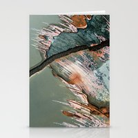 Corrosion Colors II Stationery Cards