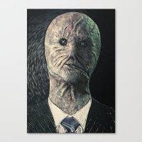 Dr. Decker Canvas Print