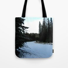 Wintertime in WaterValley Tote Bag