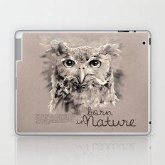 Owl (BornInNature) Laptop & iPad Skin