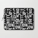 TYPE MAN Laptop Sleeve
