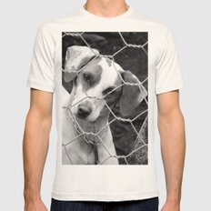 DOG Mens Fitted Tee Natural SMALL