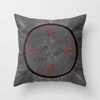 Clock....? Throw Pillow