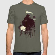 Death Note Mens Fitted Tee Lieutenant SMALL