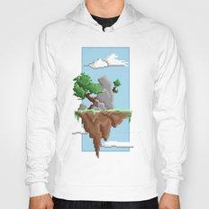 Pixel Landscape : Flying Island Hoody
