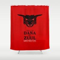 Zuul Shower Curtain