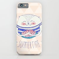 summertime cat iPhone 6 Slim Case