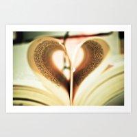 Love to Read. Art Print
