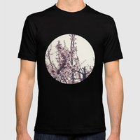 blossom Mens Fitted Tee Black SMALL
