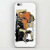 Oiliphants iPhone & iPod Skin