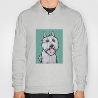 Levi the Miniature Schnauzer Hoody