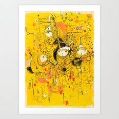 Central 26th Art Print