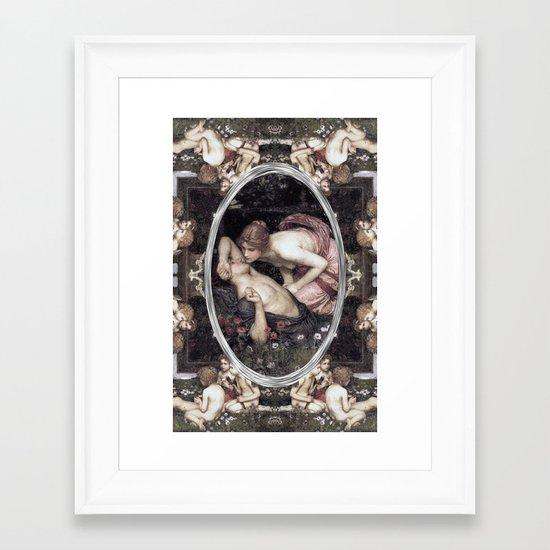 Awakening of Adonis (Waterhouse) Framed Art Print