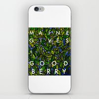 Maine Gives Good Berry iPhone & iPod Skin